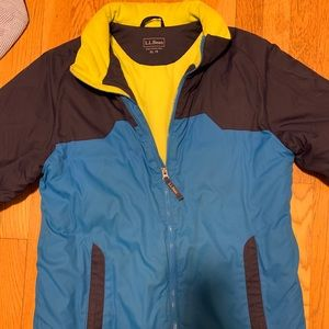 LL Bean Boys Winter Coat, XL (18)